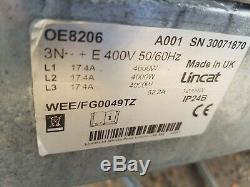 Lincat Table Commercial Plaque Chauffante Électrique Taud Grill Plat 900mm 3 Poids Lourds De Phase