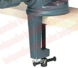 Lourde 4 Clamp Sur Vise Bench Top Table Suivel Spinning Base Vice