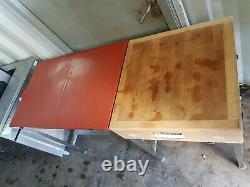 Lourdement Bouchers Bloc Table 1520mm Large