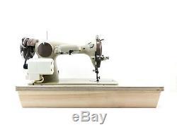 Machine À Coudre À Usage Intensif Semi-industriel Brother + Nouveau Moteur + Table D'extension
