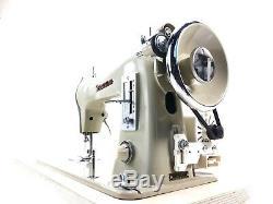 Machine À Coudre À Usage Intensif Semi-industriel Janome + Nouveau Moteur + Table D'extension