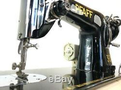 Machine À Coudre À Usage Intensif Semi-industriel Pfaff 30 + 16 Tables + Nouveau Moteur