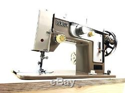 Machine À Coudre À Usage Intensif Semi-industriel Sailmaker Zigzag + Table D'extension