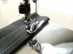 Machine À Coudre En Métal À Usage Intensif Semi-industriel Brother + Nouveau Moteur + 16 Tablettes