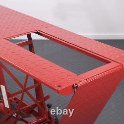 Mécanique De Moto Hydraulique Garage Atelier Lift Table Banc Lourd