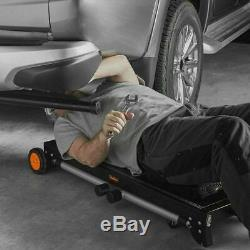 Métal Pliant Workbench Atelier Mobile Portable Garage Heavy Duty Table Roues