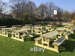 Meubles Extérieurs En Bois De Jardin De Pub De Banc De Table De Pique-nique Extérieur En Bois Résistant