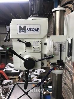 Meyer Heavy Duty Floor Pilier Permanent Drill Modèle Sr32ae Rise & Table Automne / Head