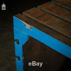 Milieu Du Siècle Heavy Duty Fonte Table Industrielle Machine