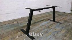 Modern Art 0 Handmade In Uk Industrial Black Heavy Duty Metal Table Leg