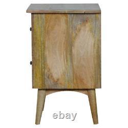 Moderne Rustique Crafted Main Scandinave Style En Bois Massif Table De Chevet