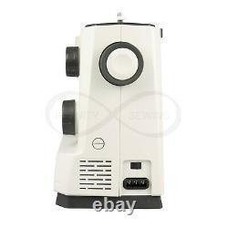 Necchi Q132a Machine À Coudre Pour Usages Domestiques Lourds + Tableau D'extension