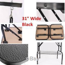 Nouveau 31/36/47 Pliable Antidérapant Pet Chien Toilettage Bras De Table De Bain Bras Réglable