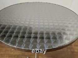 Nouveau Ensemble De Bar-tool De Table En Aluminium De 2 Sièges En Aluminium D'extérieur Robuste 600mm Rond