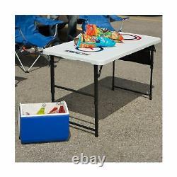 Nouveau Jeu À Vie Combo Set De Table De Cornichon Lourd Ladderball Outdoor 90466