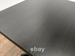 Nouveau Job Lot 4 Heavy Duty Solid Ash Tables À Manger 750mm Square Restaurant Bistro