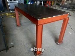 Nouvelle Table De Fabrication De Soudage En Acier Lourd