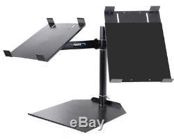 Novopro Cdj Dual Table Dj Stand Pour Paire De Platines CD Ajustables