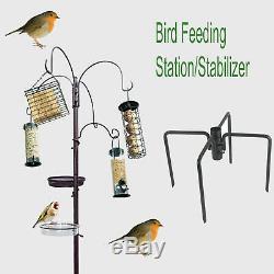 Oiseaux Sauvages Hanging Garden Alimentation Station / Stabilisateur Bain D'eau Plateau De Table Semences