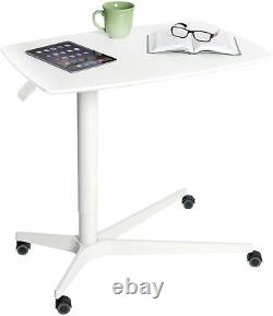 Overbed Mobile Medical Bedside Table Séville Classics Airlift 30 Gas-spring Hei