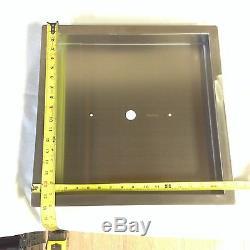 Pan16x16-1 Heavy Duty 18 16x16x2 Inoxydable Gauge Feu Brûleur Casserole Avec 1 Lip