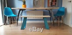Pieds De Table En Métal Eames Inspired Heavy Duty Fabriqués À La Main Au Royaume-uni Et Au Design Unique