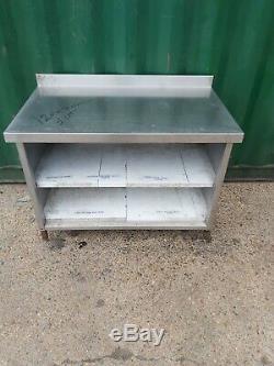 Placard Voleras Inox Commercial Plan De Travail Robuste 120x70x90cm De Table Solide