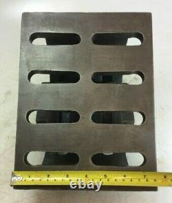 Plaque D'angle Incliné Réglable Lourde 0-90° 10 X 71/2 Table 6 Hauteur