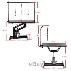 Portable Antidérapant En Acier Réglable / Se Pliant / Support De Tableau De Toilettage Hydraulique Uk