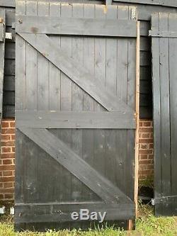 Portes Grange En Bois, Portes Stables, Portes Lourds. Tableau Projet De Conversion