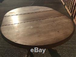Qualité Ronde En Pin Massif Extension Table À Manger Heavy Duty