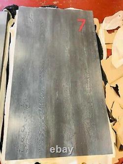Reclaimed Industrial Modern Heavy Duty Oak Table Top Work Top 180cm X 90cm