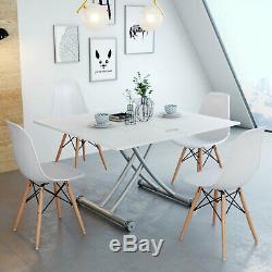 Rectangle Manger Table Basse Movable Pied Mobilier De Cuisine Réglable Prolongée