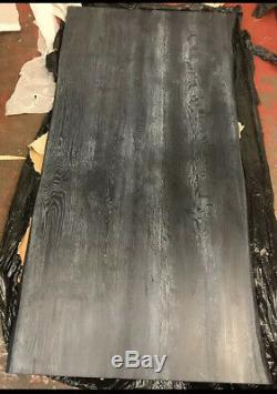 Régénérées Bord En Direct Industriel Moderne Robuste Chêne Table 180cm X 90cm