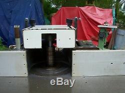 Robland T120 Ce Heavy Duty Toupie Avec Et Table Étendue Panneau De Support