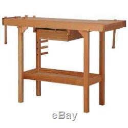 Robuste Banc Travail Menuiserie Atelier Charpentier Garage Poste De Travail Table Nouveau
