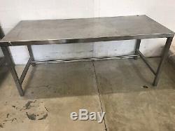 Robuste Table En Acier Inoxydable Commercial / Banc De Travail