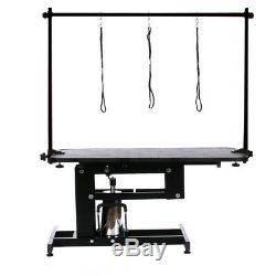 Salon Large Hydraulic Pets Chien / Chat Toilettage Boucle Table De Bain Ajuster Bras Et Laisse
