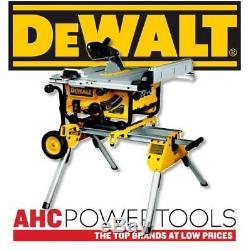Scie À Table Dewalt Dw745rs 240v Ultra-résistante Et Légère Avec Pied De7400