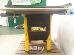 Scie À Table Dewalt Dw746-xj Heavy Duty 10