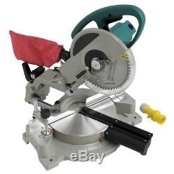 Scie De Table De Coupe À Onglets À Glissement Composée Pour Laser De 110v 1800w 10 254mm
