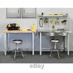 Séville Classics Ultrahd Ultra Heavy Duty 48 Table Banc Travail En Acier Workbench