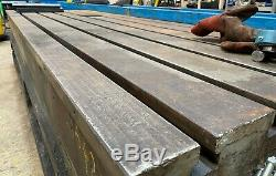 Soudage Banc / Table Robuste En Fonte À Rainure En T Engineers Tableau 3m X 1.6m