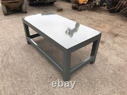 Super Banc De Travail Lourd / Projet D'atelier De Garage De Table De Fabrication De Soudage