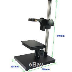 Support De Support De Table Stéréo À Flèche En Métal Robuste Pour Caméra Microscope