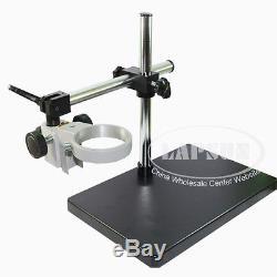 Support De Table Stéréo De Support De Bras De Bras De Microscope Résistant D'anneau De 76 / 85mm Anneau 25mm