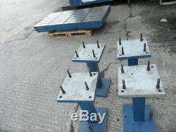 T-fendue Tableau. Heavy Duty Acier / Fonte Tableau T-fente. Banc Ingénieurs