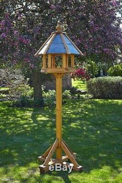 Table À Oiseaux Robuste En Bois Rosedale Par Tom Chambers Table À Toit En Ardoise