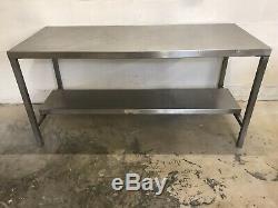 Table Commerciale Résistante De Préparation De Restauration D'acier Inoxydable 1840 X 760mm