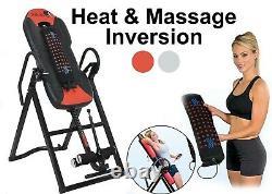 Table D'inversion Service Lourd Avec Le Vibro Massage Et La Chaleur Jusqu'à 150 KG